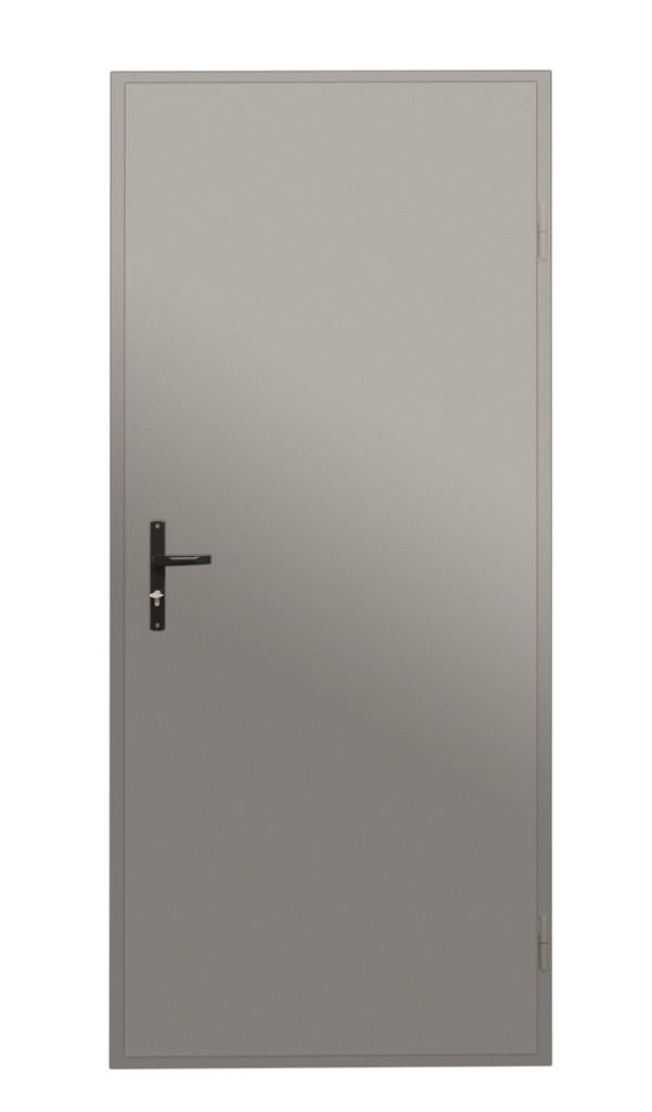 Drzwi stalowe jednoskrzydłowe