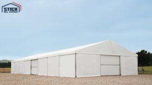 Produkcja hal namiotowych