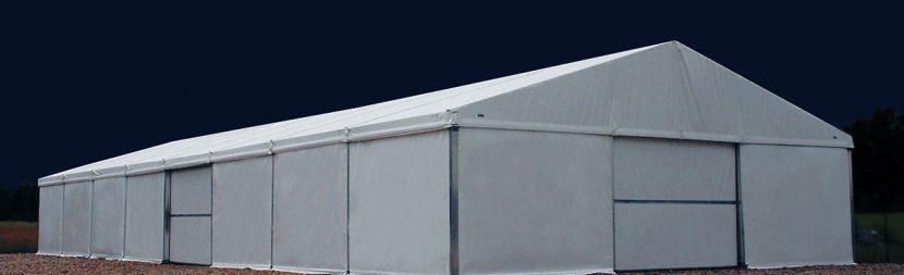 Koszt budowy hali namiotowej