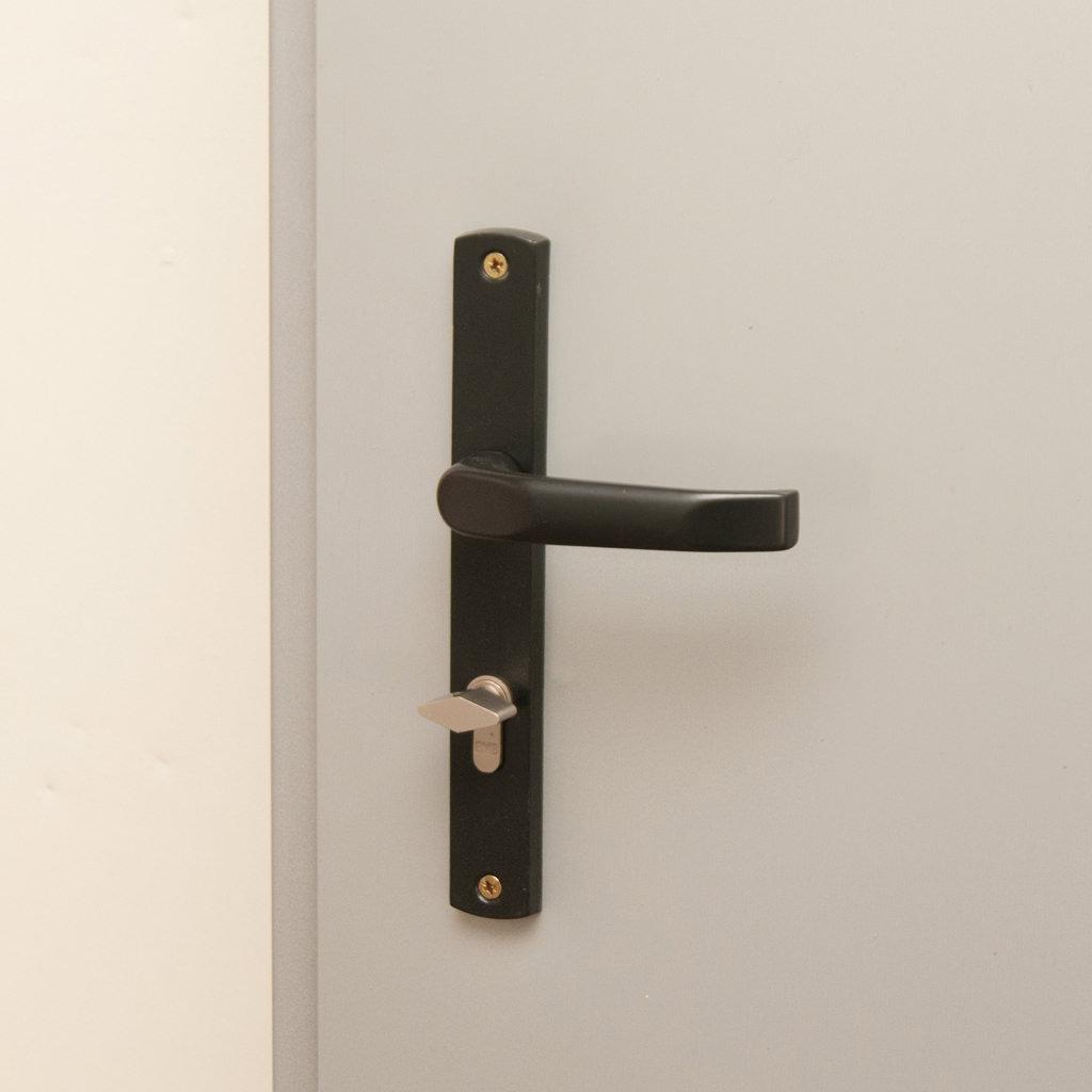 Klamka do drzwi stalowych