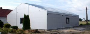 hale namiotowe na profilach aluminiowych
