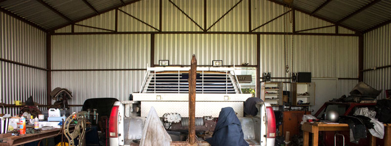 budowa warsztatu samochodowego z konstrukcji stalowej