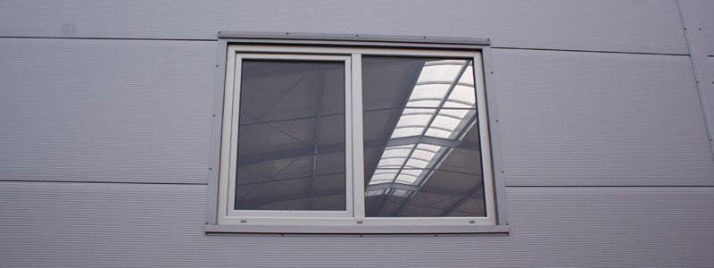 Okna do hali przemysłowej - Stick Hale