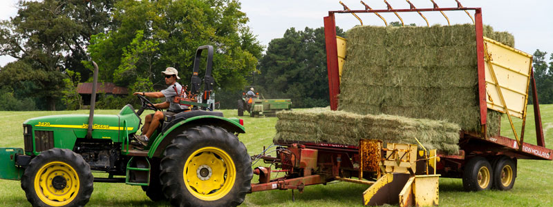 Hala na maszyny rolnicze - Stick Hale