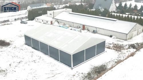 Namiot Magazynowy Bydgoszcze - Realizacja Stick Hale